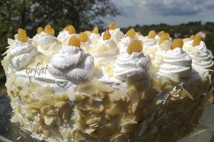 Oroszkrém torta Kata konyhájából