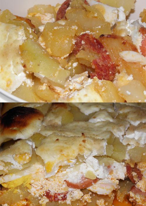 Színes rakott krumpli