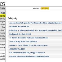 Exindex - Faliújság