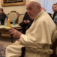 Ferenc pápa Romániában is beszélt az újraházasodott elváltak áldoztatásáról