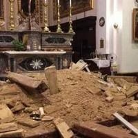 Leszakadt Málta egyik legrégibb templomának mennyezete