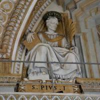 Július 11. Szent I. Piusz pápa és vértanú
