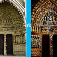 A középkori katedrálisok színpompásak voltak