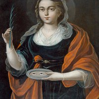 2017. december 13. Szent Luca szűz és vértanú