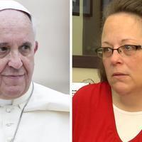 Ferenc pápa találkozása Kim Davis-szel - Viganò egy újabb vádra válaszolt