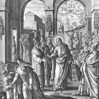 2018. március 18. Feketevasárnap (Dominica de Passione. I. oszt.) Stációs templom: Szent Péter bazilikája