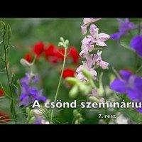Barsi Balázs: A csönd szemináriuma 7. (VIDEÓ)