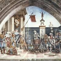 Május 6. Olajbafőtt Szent János / S. Joannis Ap. ante Portam Latinam
