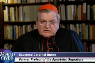 Burke bíboros: Nonszensz, hogy a pápa a Szentírás és az Egyház hagyománya felett áll