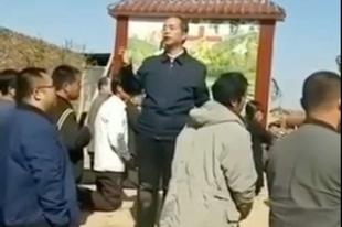 Lerombolták a blokád alá vont templomot a kínai Handan egyházmegyében