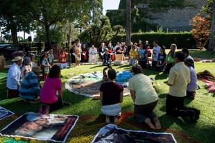"""Pogány """"ökológiai szertartást"""" mutattak be a vatikáni kertekben"""
