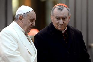 Ferenc pápa Vatikánjában egyre inkább Pietro Parolin bíboros a meghatározó tekintély