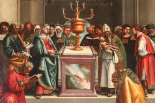 Február 2. Gyertyaszentelő Boldogasszony (Boldogságos Szűz Mária tisztulása – Purificatio B. M. V.)