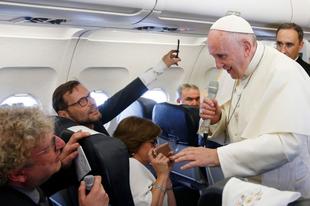Ferenc pápa az interkommúnióról: Az egyes püspökök kell, hogy eldöntsék, hogy bevezetik-e az egyházmegyéjükben