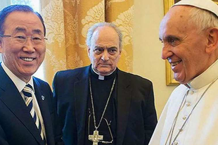 A pápa és más vatikáni tisztviselők támogatják az ENSZ Célokat - A Szentszéknek erkölcsi ellenvetései vannak