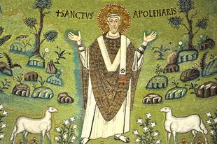 Július 23. Szent Apolináris püspök és vértanú (+200.)