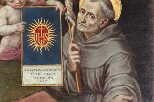 Május 20. Sziénai Szent Bernardin hitvalló