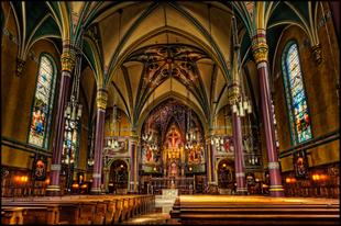 18 lélegzetelállító katolikus templom a nagyvilágból