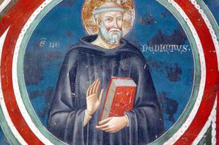 Március 21. Szent Benedek apát