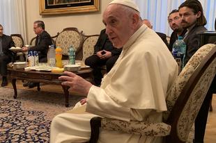 Ferenc pápa a prozelitizmusról, a klerikalizmusról, a xenofóbiáról, a környezeti elégtételről