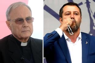 Az olasz püspöki kar tagjai is bírálják Matteo Salvini hitvallását