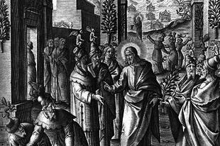 2019. április 7. Feketevasárnap (Dominica de Passione. I. oszt.) Stációs templom: Szent Péter bazilikája