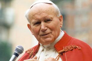 """Szent II. János Pál pápa Róma első """"LMBT Pride"""" felvonulásáról"""