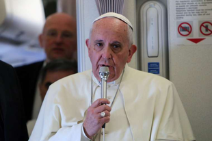 """Ferenc pápa Viganò érsek vallomásáról: """"Egyetlen szót sem fogok erről mondani."""""""