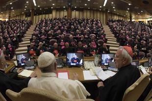 Ferenc pápa is felszólalt az olasz püspöki kar közgyűlésén