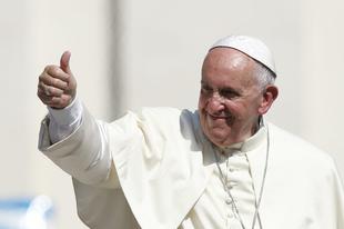 """Isten teremt """"melegnek""""? - Ferenc pápa megint címlapokon szerepelt"""