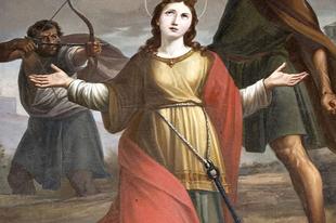 Július 24. Szent Jakab apostol vigíliája, Szent Krisztina szűz és vértanú (+304.)