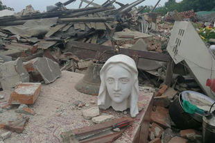 Újabb templomrombolás Kínában