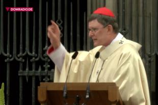 Woelki bíboros élet-halál kérdésnek nevezte a németországi interkommúnió-vita rendezését