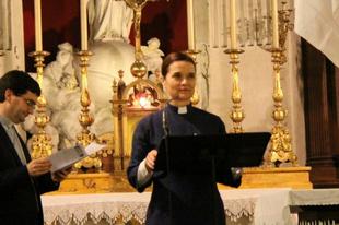 Újabb tiltakozó imaakció egy katolikus templomban tartott reformációs megemlékezésen