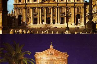2017. november 18. Szent Péter és Pál apostolok bazilikáinak felszentelési ünnepe