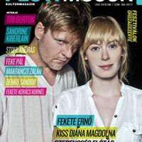 Fekete Ernő Kiss Diána Magdolnával a Pesti Műsor címlapján