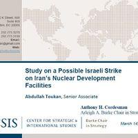 Izraeli támadási tervek Irán ellen