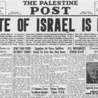[Műsorajánló] Izrael megalapítása