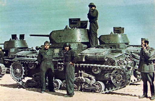 tanks of the VII Battaglione, Ariete Armored Division.jpg