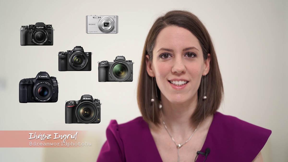 Az örök kérdés: Milyen fényképezőgépet válasszak? (VIDEÓ)