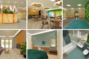 Minihotel az erdő szélén