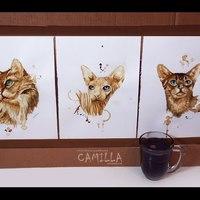 Kávé és macskák - nem csak egyféleképp találkozhatnak :)