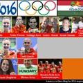Éremtáblánk a riói olimpiai játékok végén [18]