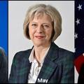 A világ vezetése női kezekbe kerülhet: Merkel, May és Clinton [7]
