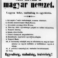 15-dik március, 1848