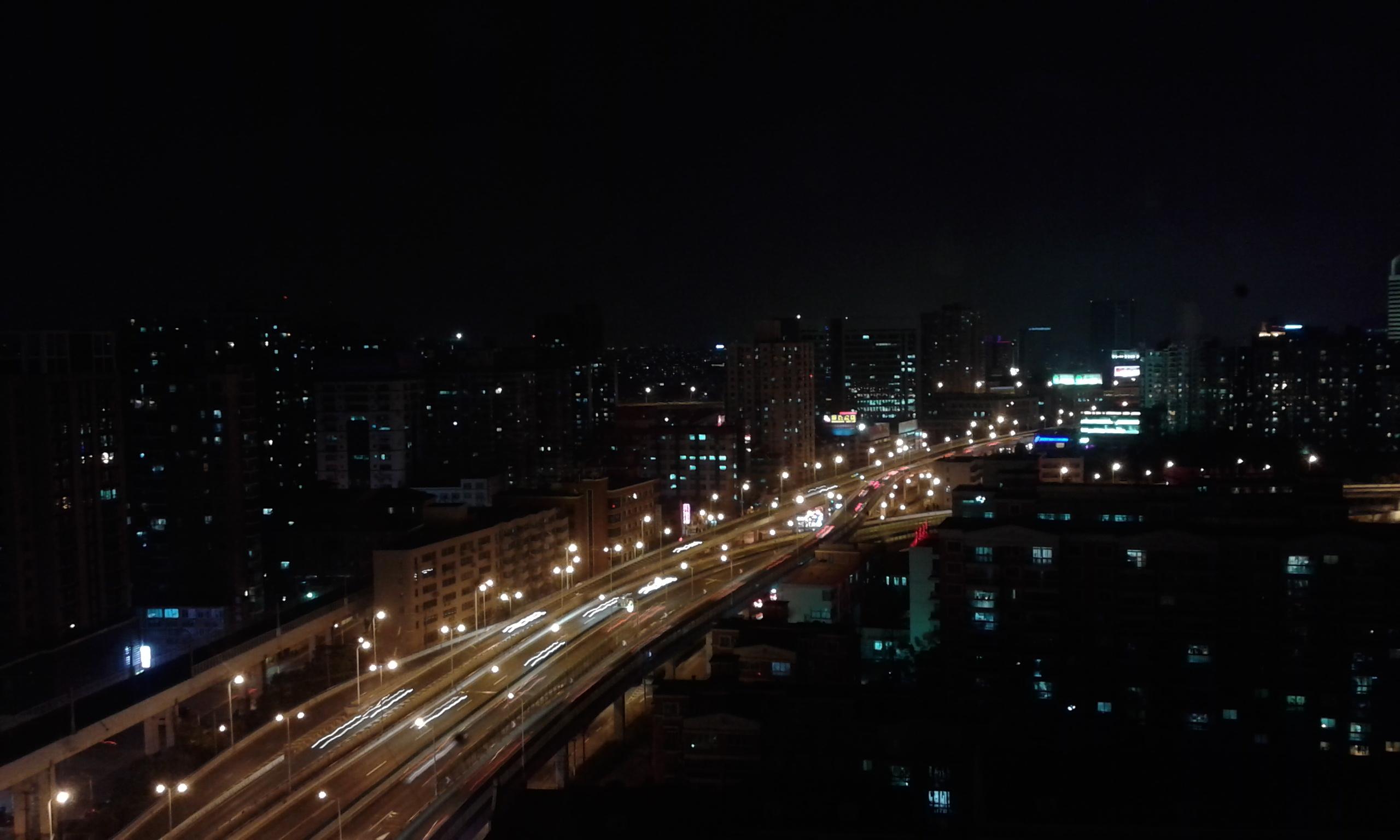 Kilátás a 16. emeletről - Hongkou (虹口区), Shanghai