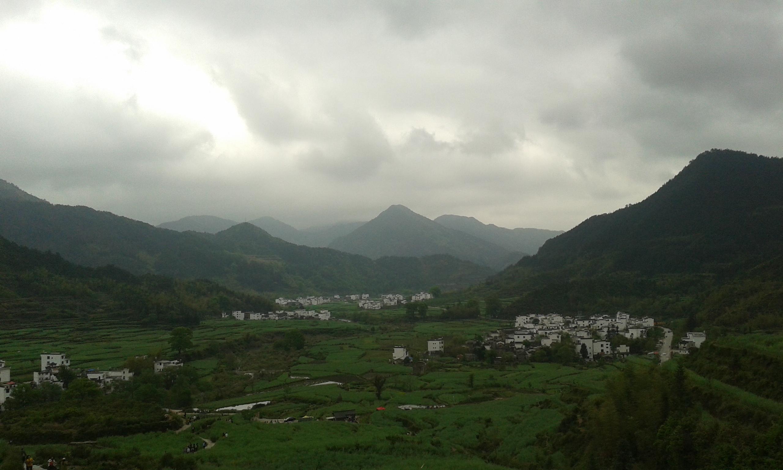 Pára és hegyek - Wuyuan (婺源)