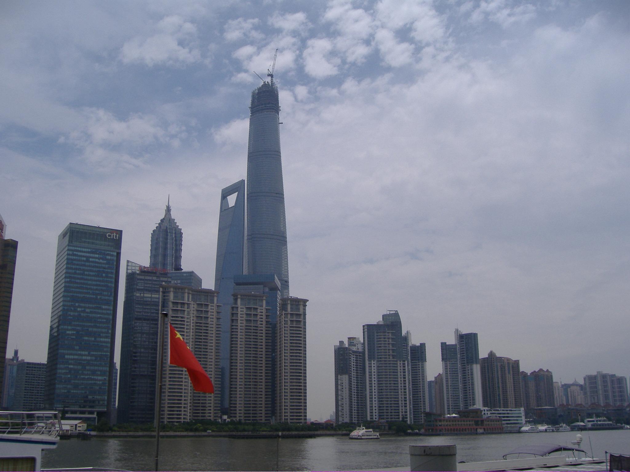 Pudong felhőkarcolói - Huangpu,(黄埔区), Shanghai