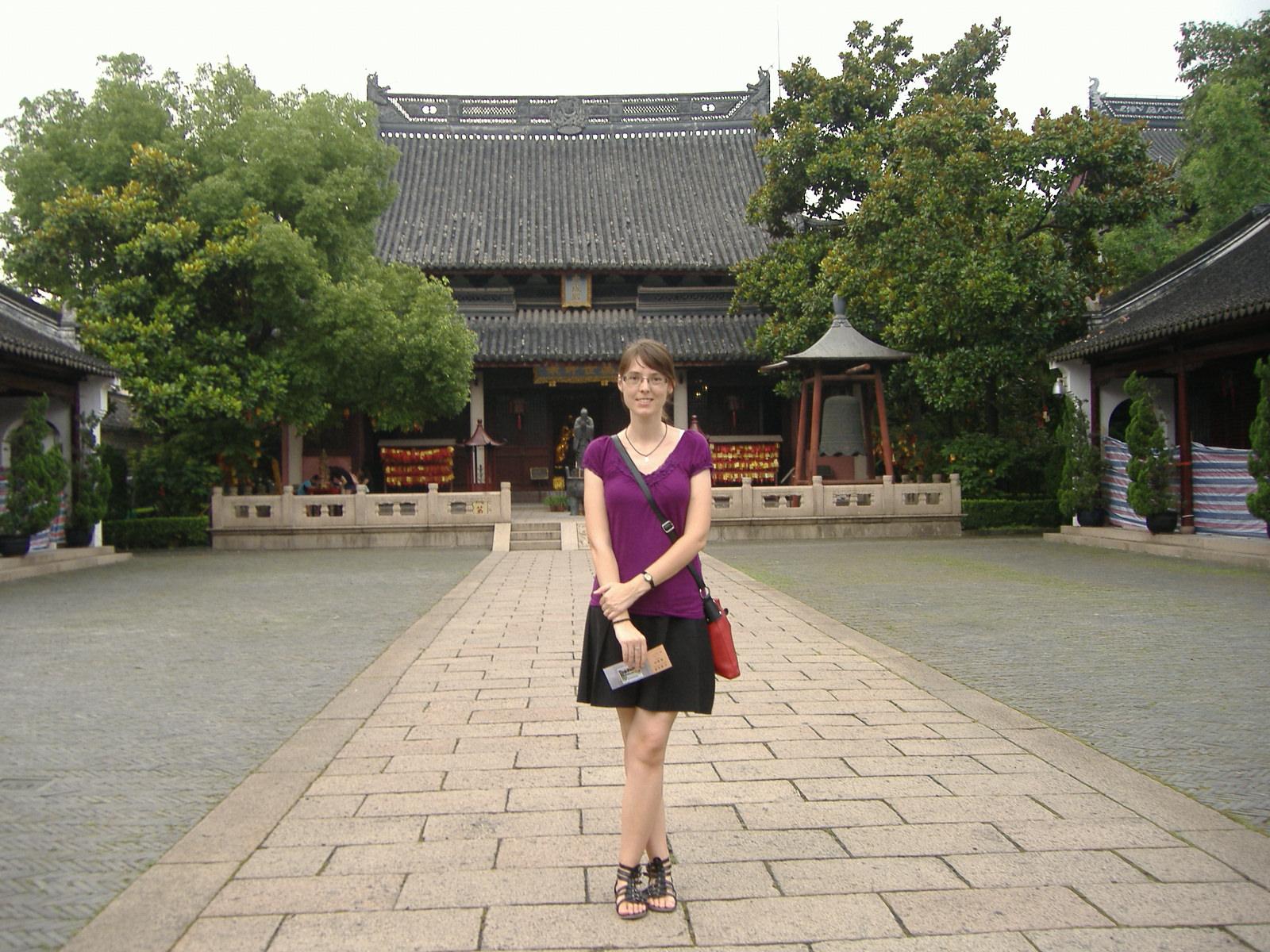 A konfuciánus templom előtt (上海文庙)- Huangpu,(黄埔区), Shanghai