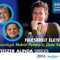 Molnár Piroska és Lázár Kati a Felcserélt életekben